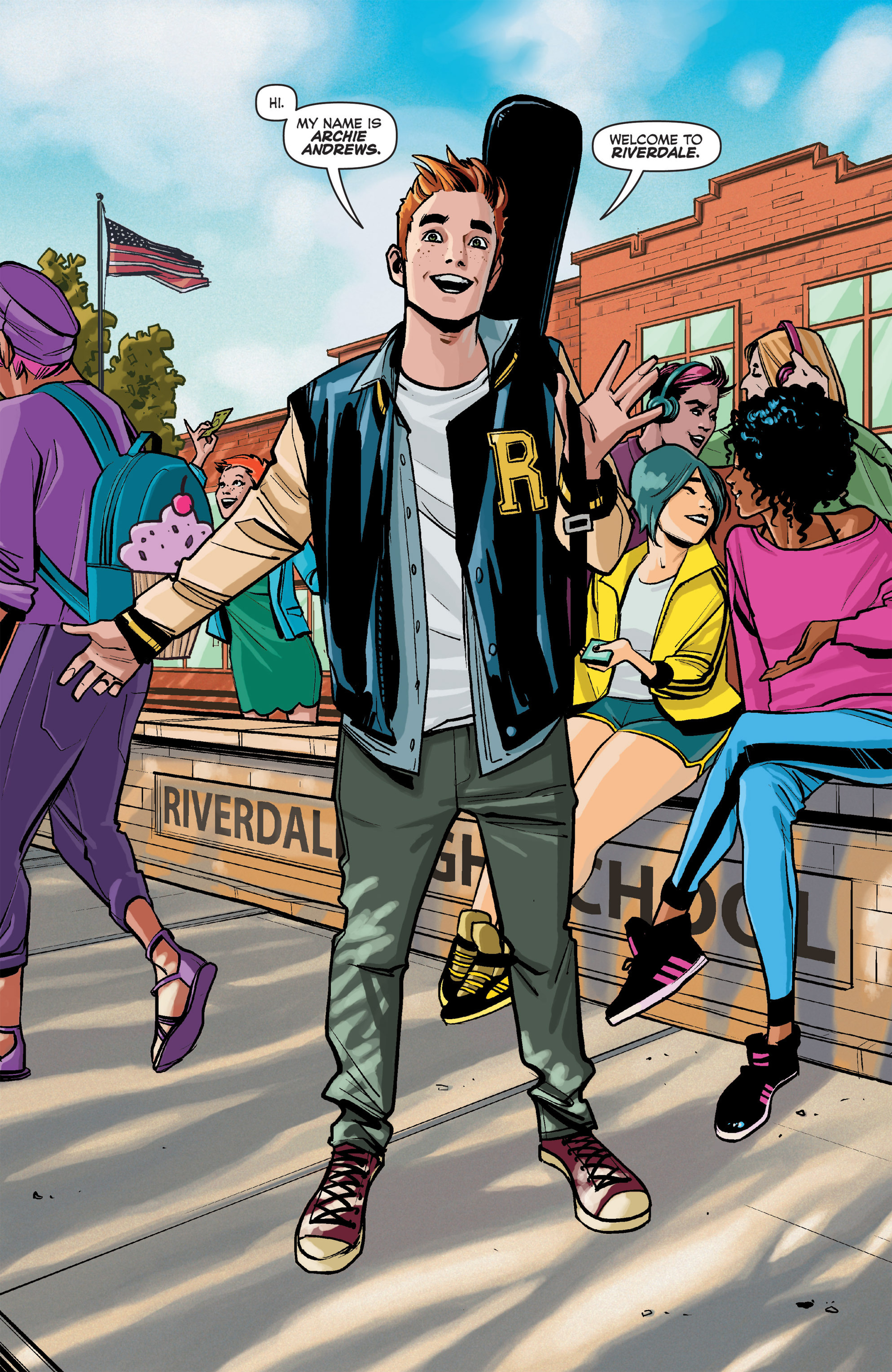 Read online Archie (2015) comic -  Issue #1 - 3