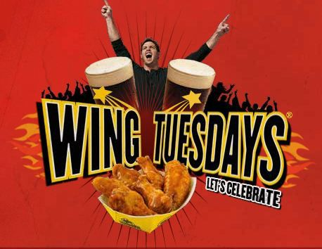 Jul 20,  · Best Answer: It is their special promotion Wing Tuesdays where their Chicken wings are on special, 40 cents per wing, minimum 10 wings and up to wings which means you have to order in 10s or 5s. Normal price is for softballlearned.ml: Resolved.