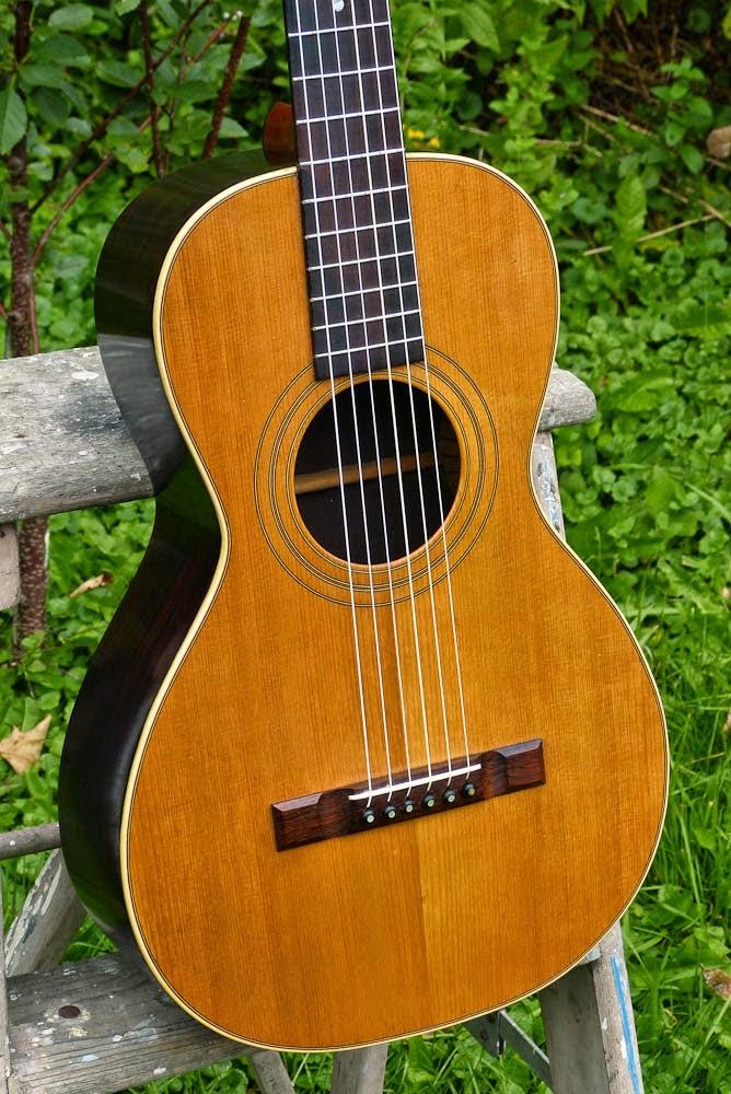 weymann size 2 gut strung parlor guitar. Black Bedroom Furniture Sets. Home Design Ideas