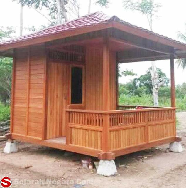 Gambar Rumah adat Mini Sulawesi Utara