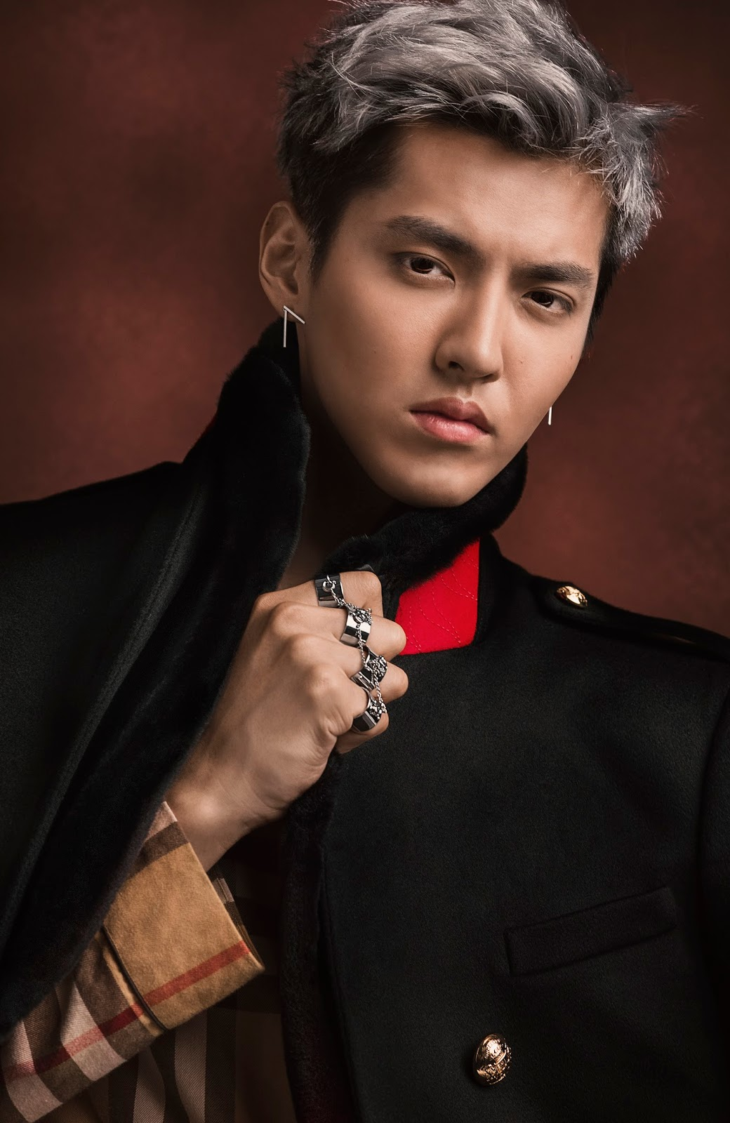 Kris Wu as Burberry's New Brand Ambassador