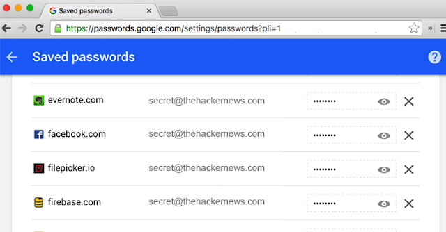 google-online-password-manager