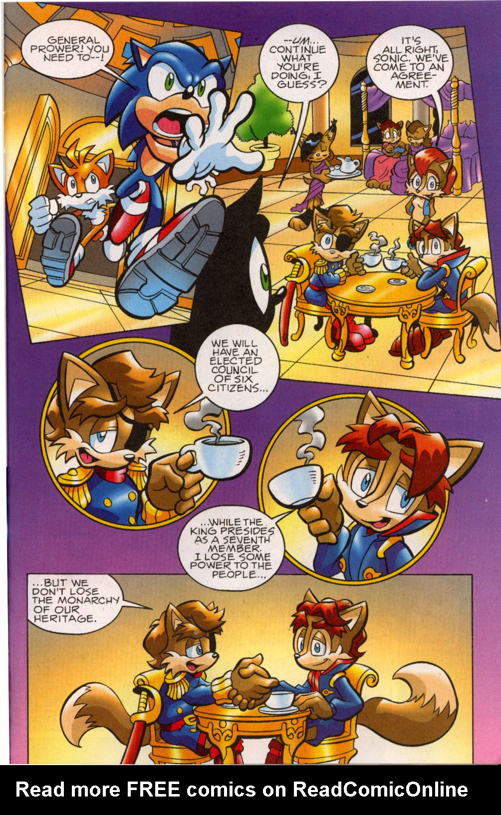 Read online Sonic The Hedgehog comic -  Issue #179 - 16