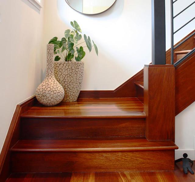 Tambahkan sedikit unsur alami pada tangga