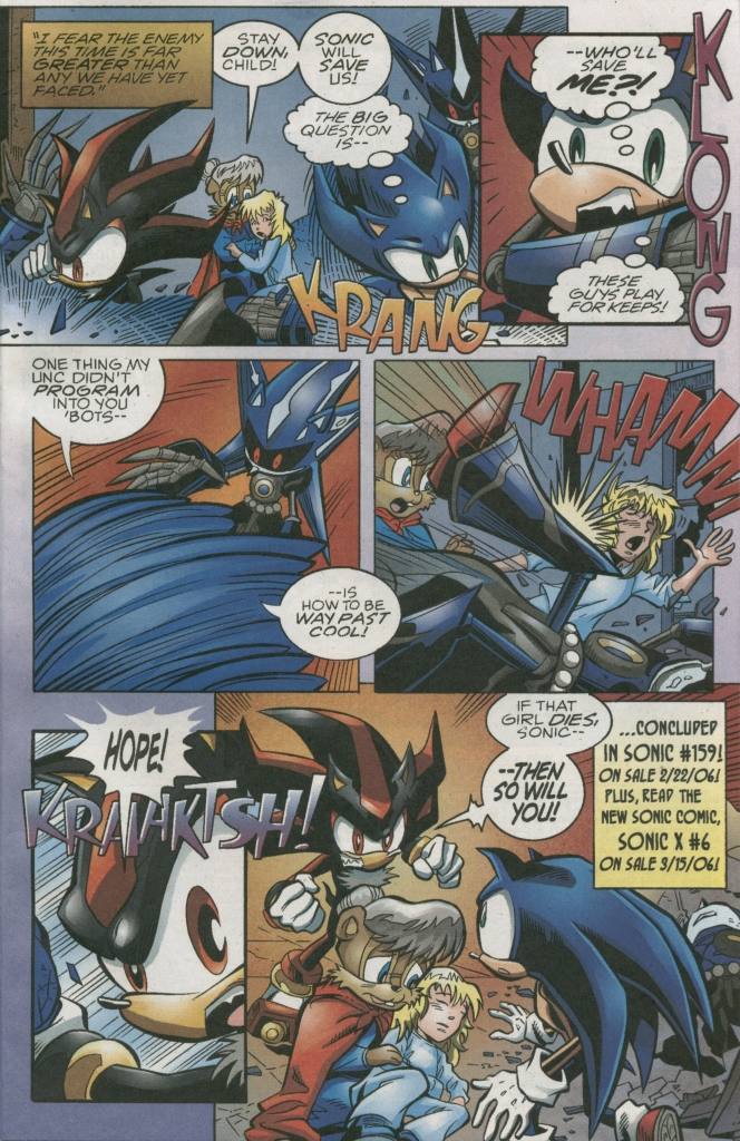 Read online Sonic The Hedgehog comic -  Issue #158 - 27
