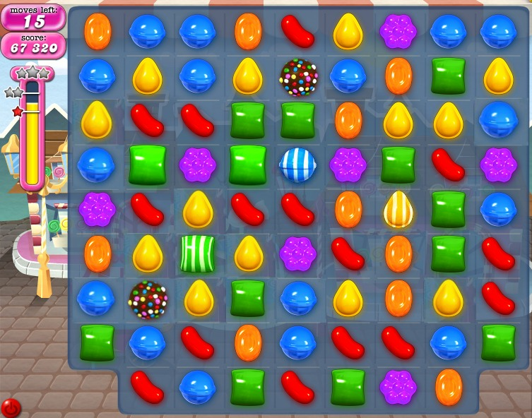 Candy Crash Spiel