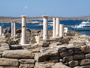 Vistas de Delos - Islas Griegas