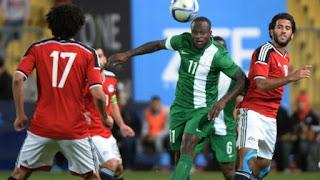 ملخص مباراة مصر ونيجيريا اليوم الثلاثاء بتاريخ 26-03-2019 نيجيريا تفوز على مصر بهدف دون رد في المباراة ودية