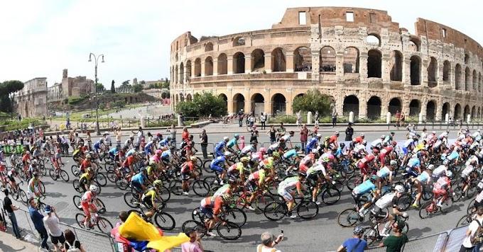 Giro d'Italia, i Fori romani mandano in buca l'edizione 101