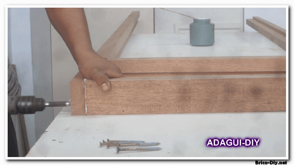 Hacer una puerta de madera perfect c mo construir una - Como hacer una puerta mosquitera abatible ...