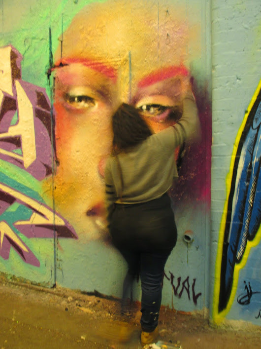 : Femme Feirce at Leake Street Tunnels