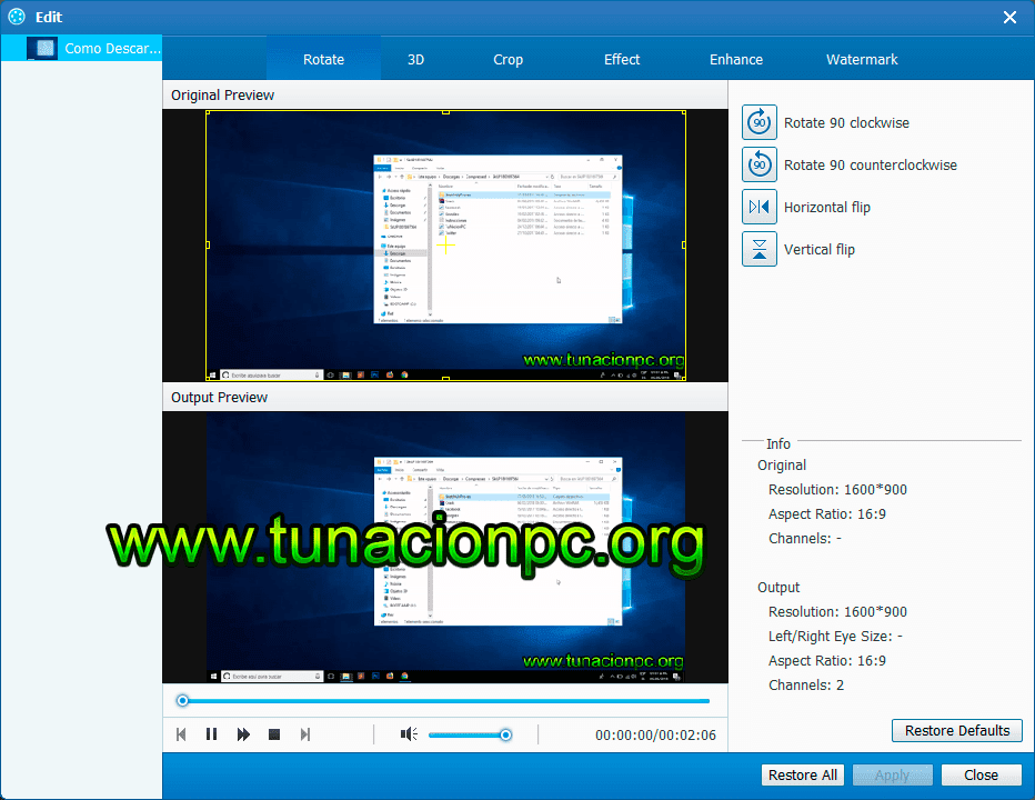 Tipard Video Converter Ultimate multilenguaje Ingles