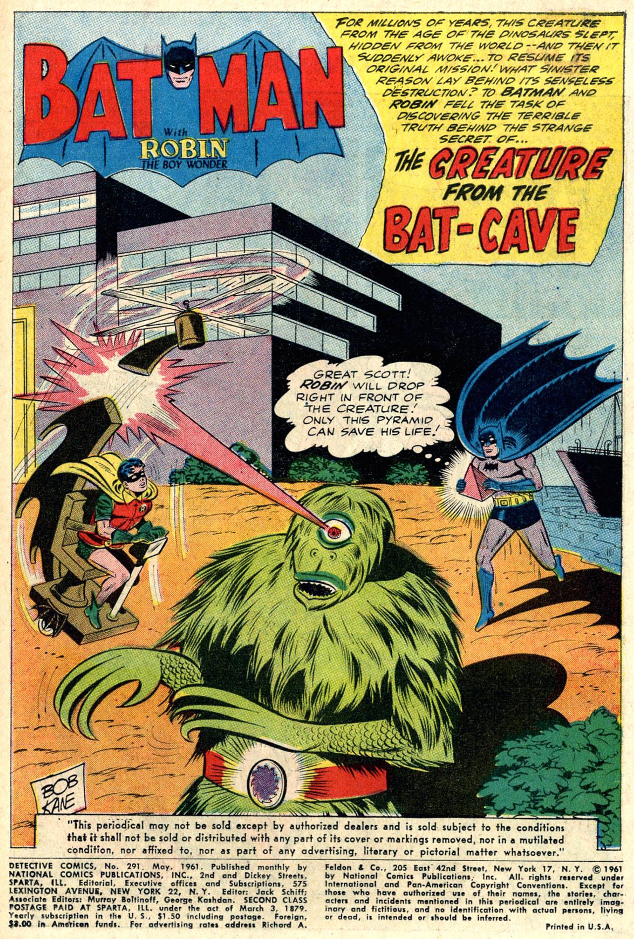 Detective Comics (1937) 291 Page 2