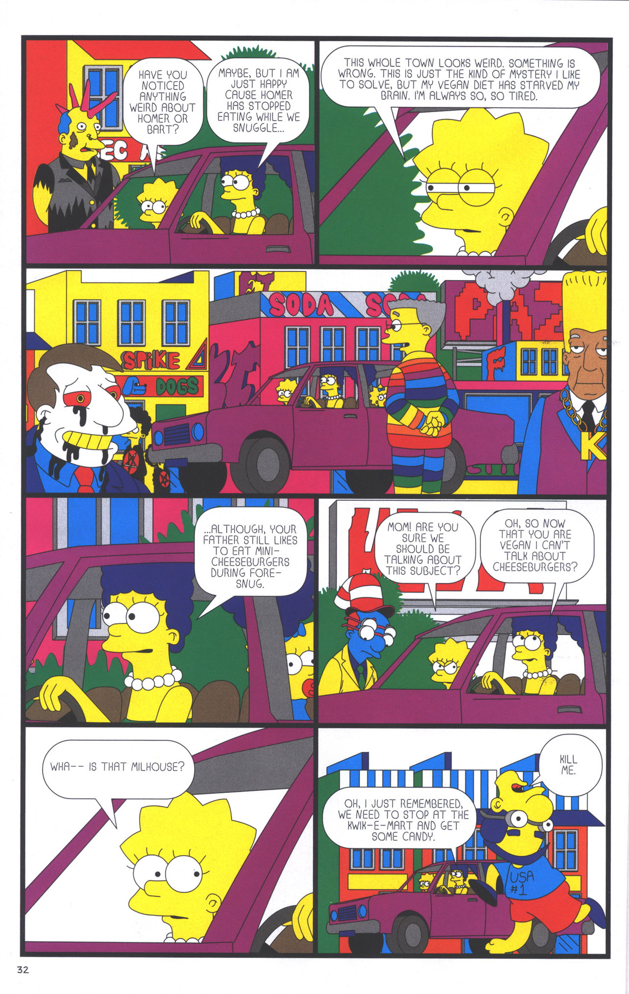 Read online Treehouse of Horror comic -  Issue #15 - 35