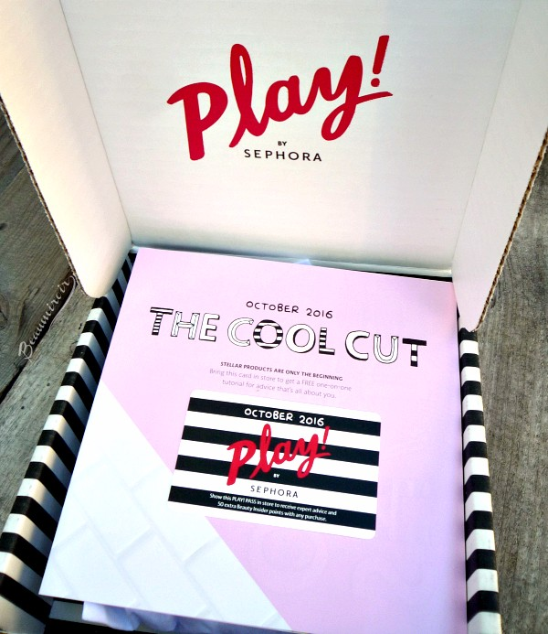 Unboxing: Sephora Play! October 2016
