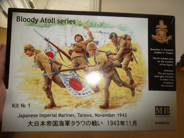"Master Box Japanese Marines ""Bloody Atoll series"""