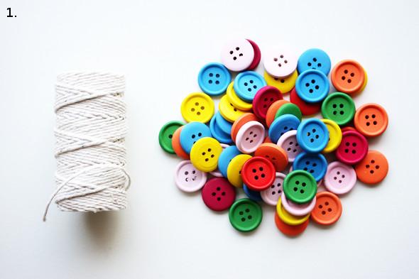 Düğmelerden Kemer Yapımı