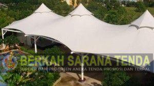 Jual Tenda Membrane, Tenda Membrane Murah, Harga Tenda Membrane, Tenda Membrane Per Meter, Tenda Tensile Membrane