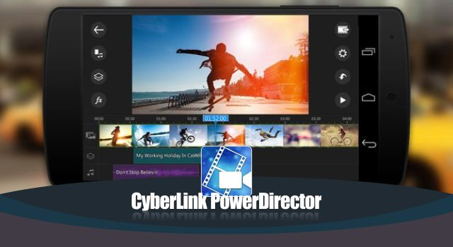 CyberLink PowerDirector Video Editor Apk Full Premium