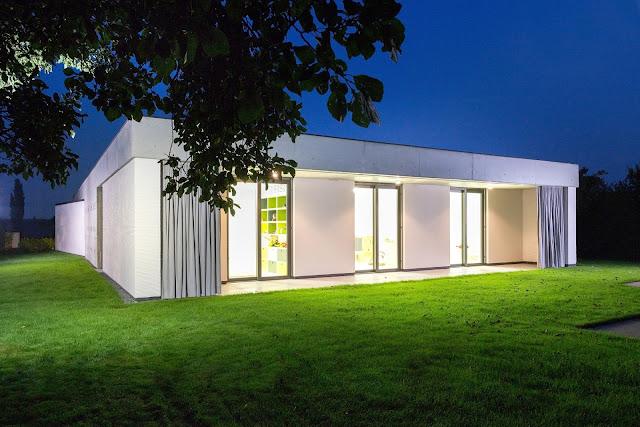 Dise o de casas home house design casas modernas for Casa moderna flooring