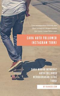 Trik auto follower dan like instagram tanpa aplikasi