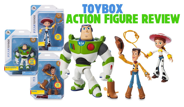 Shop Disney Pixar Toybox Action Figures - Buzz, Woody and Jessie