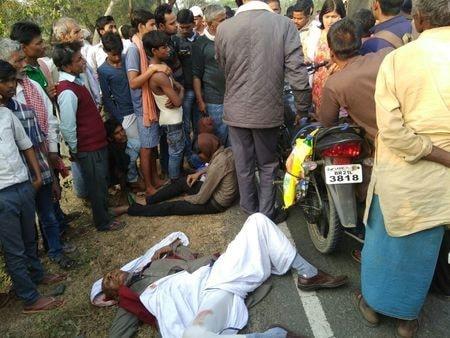 नालंदा में दिनदहाड़े बाइक सवार बदमाशों ने  मारी गोली,मौत