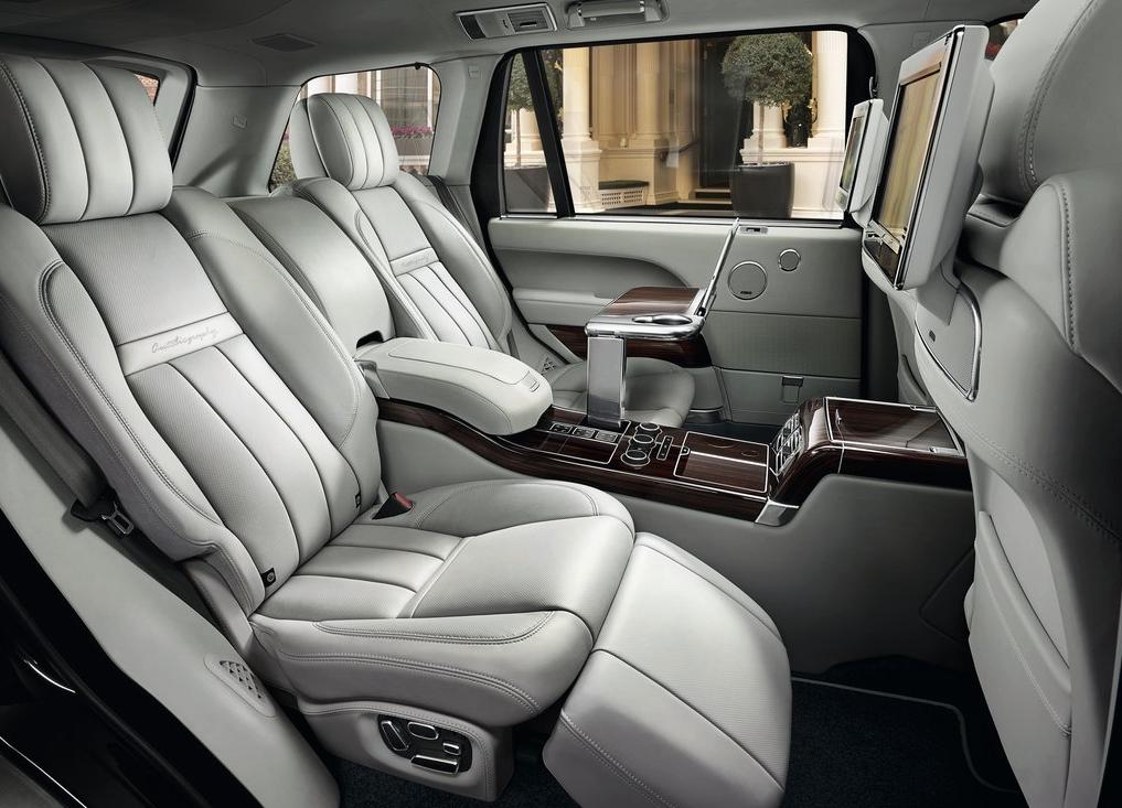 2016 Land Rover Range Sv Rear Seat