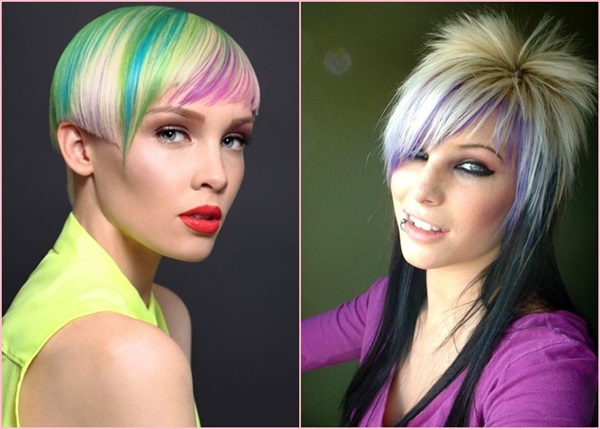5 Funky Frisuren zum Herrlich Verrücktem Aussehen
