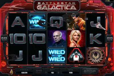 play battlestar galactica video slot for free