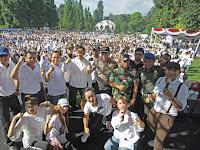Pelajar Kota Bogor Deklarasikan Pemilu Damai