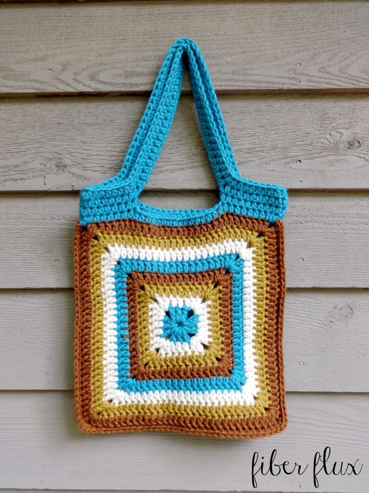 Fiber Flux: Free Crochet Pattern...Nature Walk Tote!