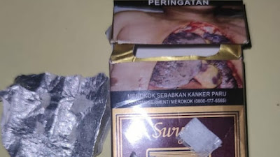 Sembunyikan Sabu dalam Sedotan, MA Dibekuk Polisi di wilayah Tangerang