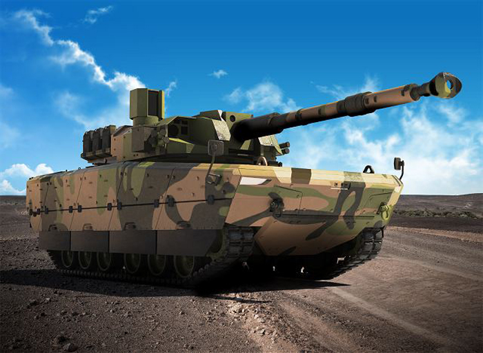 Prototype Tank Medium Kaplan MT, FNSS Turki-Pindad