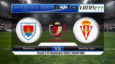 PREDIKSI NUMANCIA VS SPORTING GIJON 14 SEPTEMBER 2018