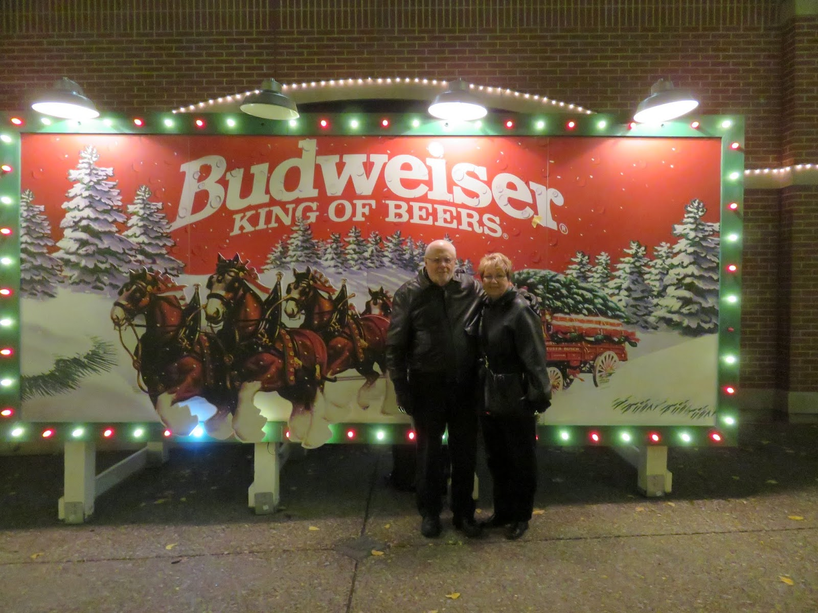 Anheuser Busch Brewery Christmas Lights