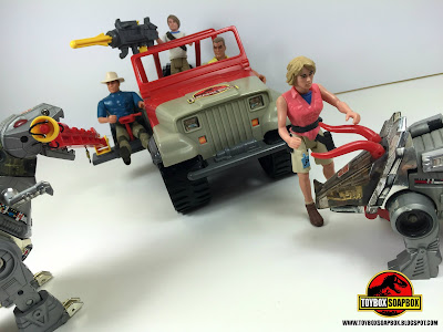 the jurassic park jeep toy