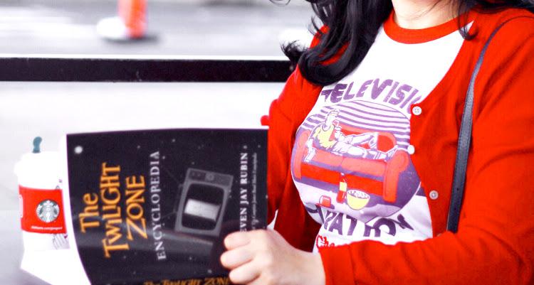 A Vintage Nerd, Twilight Zone Tee Shirt, Wicked Clothing, Television Marathon Champion Tee, Retro Lifestyle Blog, Retro Fashion Blog