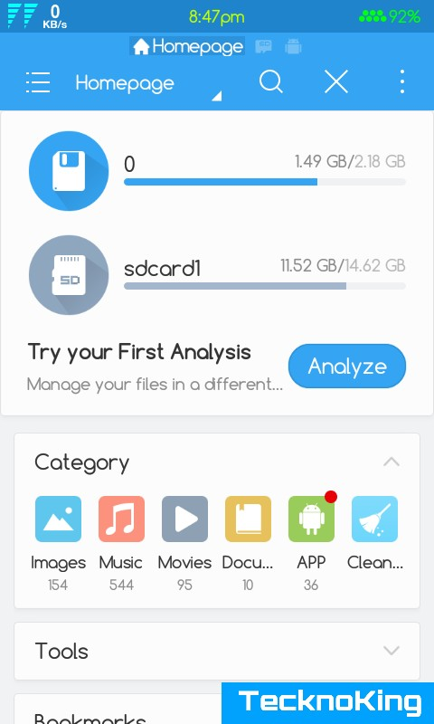 es file explorer how to use