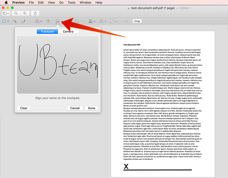 Document Sign For Mac