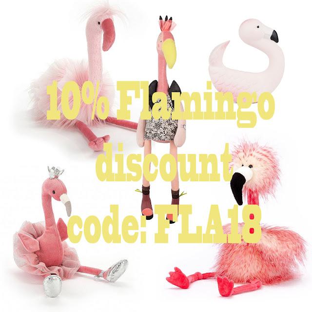 flamingo knuffels