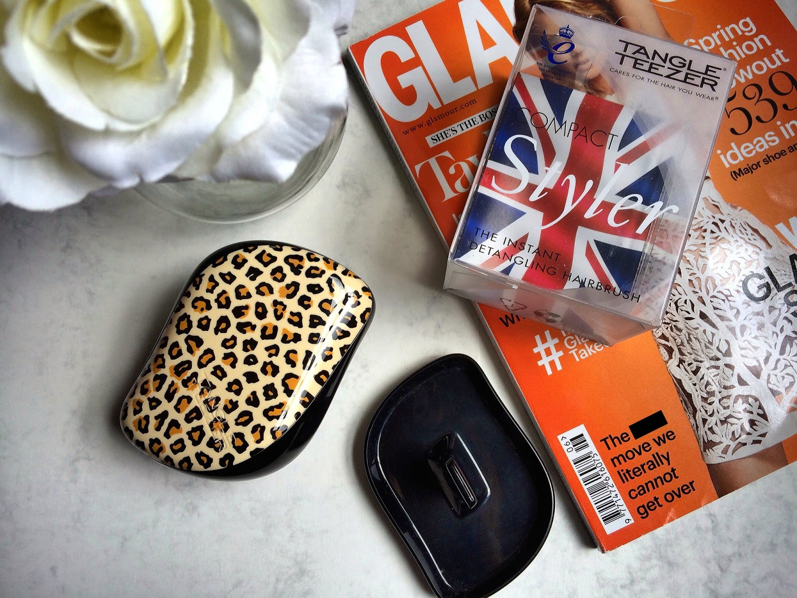 Tangle Teezer compact styler hair review