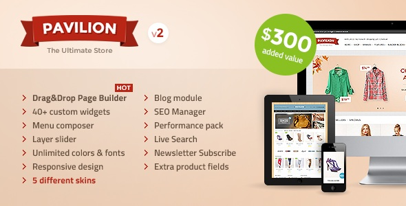 Pavillion Opencart Theme Download