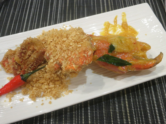 cereal crab and salted egg crab