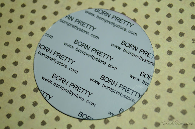 Leaf & Feather Plate BORN PRETTY BP18