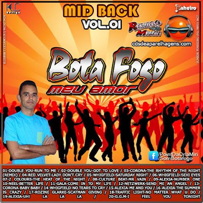 CD Botafogo Mid Back Vol 01