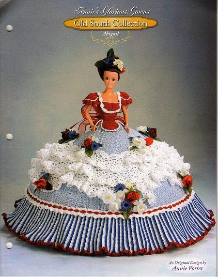 Vestido de Barbie em Crochê de Luxo Receita de Crochê em Inglês