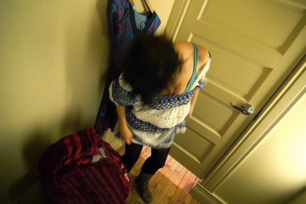 Hidden camera girls changing room