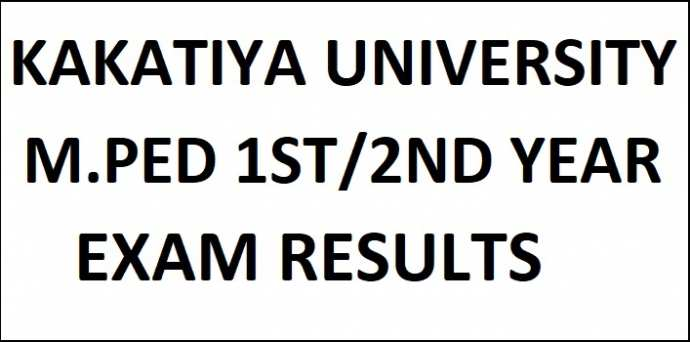 Kakatiya University M.P.Ed 1st/2nd Year 1st Sem Results manabadi