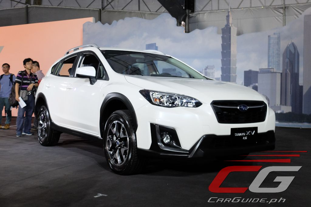 this is the base model of the 2018 subaru xv w 13 photos specs philippine car news car. Black Bedroom Furniture Sets. Home Design Ideas